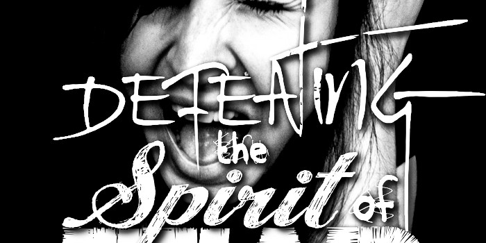Defeating the Spirit of Fear Sermon Art