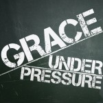 Grace Under Pressure Sermon Art